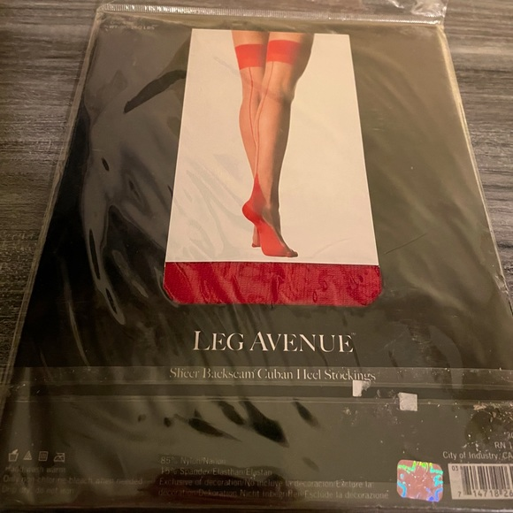 Brand new, Leg Avenue 2-tone thigh-high stockings